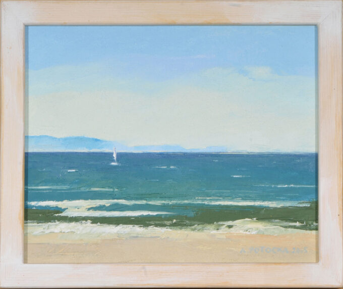 obraz olejny Morze