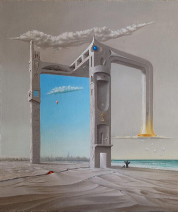 surrealizm obraz Edward Tuz Pr!